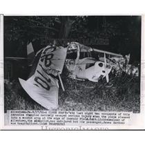 1951 Press Photo Lichtenwalner and Gardner survived the Aeronica Champion crash