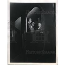1946 Press Photo Exterior doors on the entrance and from the kitchen in airplane