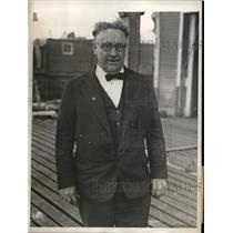 1932 Press Photo Manhatten College first outdoor Crew parctice on Harlem River