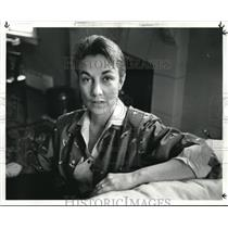 1985 Press Photo Susan Channing new spaces director - cva07023