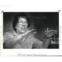 1986 Press Photo Pilot Mary Campana - cva07263