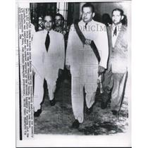 1955 Media Photo Ricardo Arias Espinosa sworn in as new President of Panama