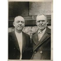 1930 Media Photo F Edel and Charles McBain in New York - ned14429