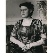 1913 Press Photo Mrs. J. S. A. McDonald