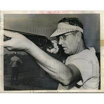 1942 Press Photo Dayton Ohio Walter Tulburt defending title holder in the Grand