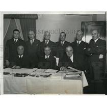 1933 Press Photo Owners and Presidents of the National League in Conference in