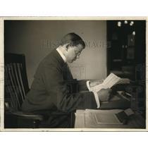 1918 Press Photo William Walt, U.S. Naval Reserve