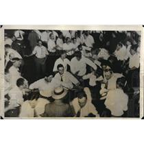 1931 Press Photo Fist fights at Biennial convention of United Mine Workers