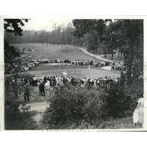 1932 Vintage Photo Eric McRuvie British Team Putting on 13th Walker Cup