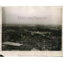 1920 Press Photo View of London from top of Westminster Cathedral showing