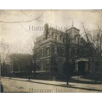 1912 Press Photo British Embassy on Connecticut Avenue in Washington D.C.