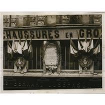1930 Press Photo Marcelin Berthelot, celebration of French chemist century mark