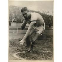 1926 Press Photo J. E. Sullivan, Cornel, Won Shot Put Event, London, Englandl