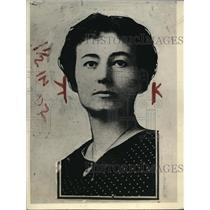 1921 Press Photo Vivian Spurgin of Chicago daughter of missing banker Warren
