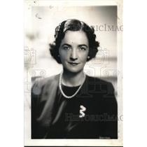1936 Press Photo Mrs De Eshil of Argentina