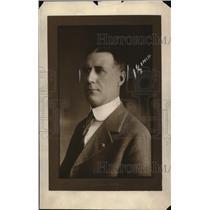 1925 Press Photo Warden Charles E Linscott of RI Prison