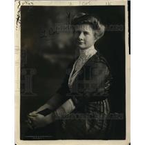 1918 Press Photo Louise Holusquist Young Womens Christian Association YWCA