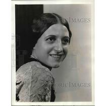 1934 Press Photo Amri Galli Campi Soprano Chicago Civic Opera - orp14716