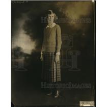 1922 Press Photo Nora Lee Williams Goucher College soph Christian Assoc