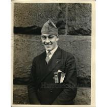 1925 Press Photo Stanley Larry Doyle American Legion President of 40 8 Montana