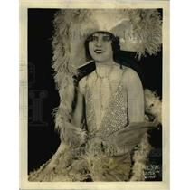 1927 Press Photo Haresfoot club Univ of Wisc Bill Ogilvie lead in a play