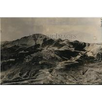 1929 Press Photo Pike's Peak mountain in Coloraddo