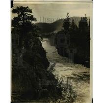 1913 Press Photo Post Falls Idaho where WWP will build dam