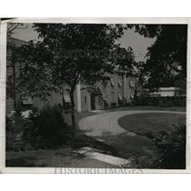 1920 Press Photo Cox country home called Trailsend