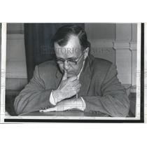 1958 Press Photo Dr. John P. Hagen, director of the Vanguard project who was