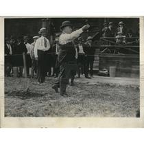 1924 Press Photo Calif Giv Friend Richardson at Horseshow Championship