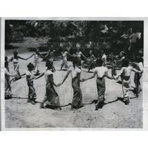1959 Press Photo Shwebo Burma children at Bon Pwint primary school