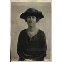 1918 Press Photo Mrs Gordon Auchinclose for Peace conference
