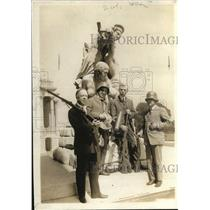 1918 Photo Senator William Thompson and Colleagues with German Relics