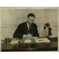1926 Press Photo Benjamin Day successor of Henry Curran,Immigration Commissioner