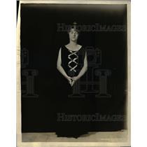 1926 Vintage Press Photo Madame Loudon, Wife Secretary Netherlands