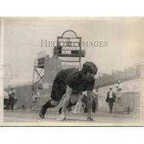 1926 Press Photo Rosa Grosse, Capt. of Toronto Ladies A.C. Track Team