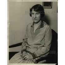 1928 Press Photo Mrs. Preciado, author. - nex27400