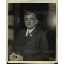 1919 Press Photo Glenn E. Plumb, general counsel of the organized railway