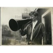 1928 Press Photo Eleanor Clifton Wellesley Mass coach of varsity crew