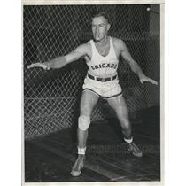 1932 Press Photo Harold Wegner basketball guard for Chicago - nes22871
