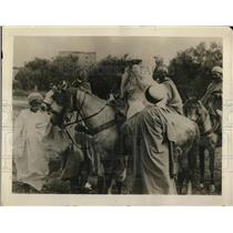 1922 Press Photo Araba, Sheiks wife