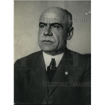 1922 Press Photo Tyler Page, Clerk of the House of Representatives