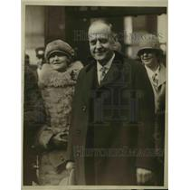 1926 Press Photo Mr. Charles M. Talley, Miss Marion Talley's father.