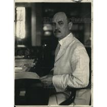 1918 Press Photo Secretary Houston - nex36594