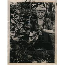 1922 Press Photo Mrs. De. C. Hooper, State President League of Women