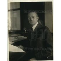 1918 Press Photo John F. Harris of the National War Savings Com.