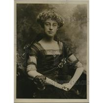 1917 Press Photo Miss Clara Babbett Hyde, Girl Who Was Healed Of Blindness