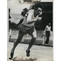 1934 Press Photo George Anderson freshman sprinter ar University of Claifornia