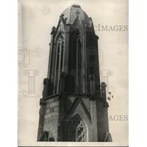1923 Press Photo Trinity Diocesan Church Washington DC Empress tree growing