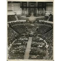1929 Press Photo London England Salvation Army meeting